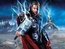 thors hammer and mighty thor