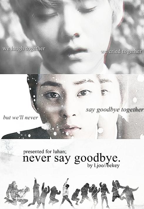 never say gbye