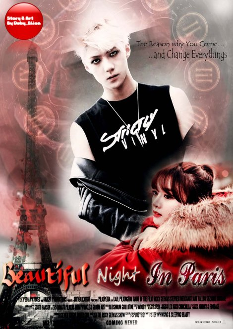 BEAUTIFUL NIGHT IN PARIS CHAP 2 POSTER