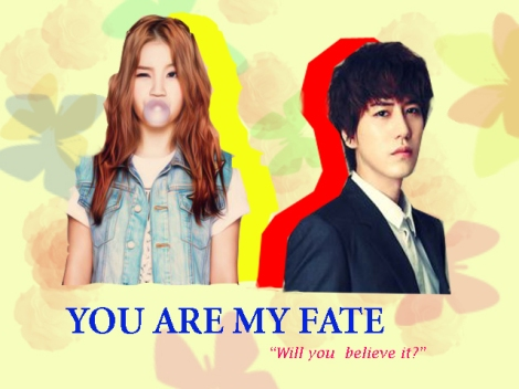 you are my fate poster