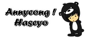 Annyeong Haseyo Black