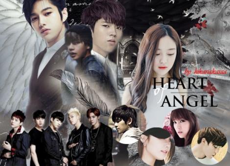 POSTER HEART OF ANGEL I