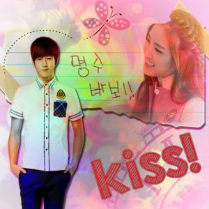 Poster MyungEun Kiss